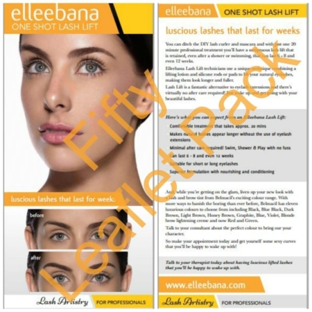 Lash Lifting leaflets