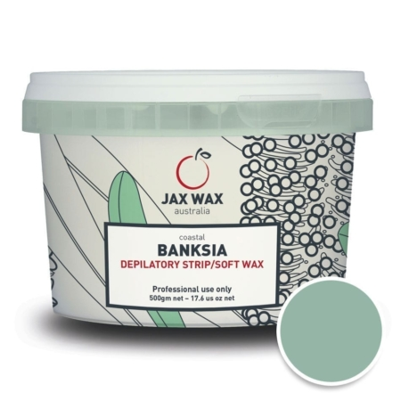 Cream soft wax