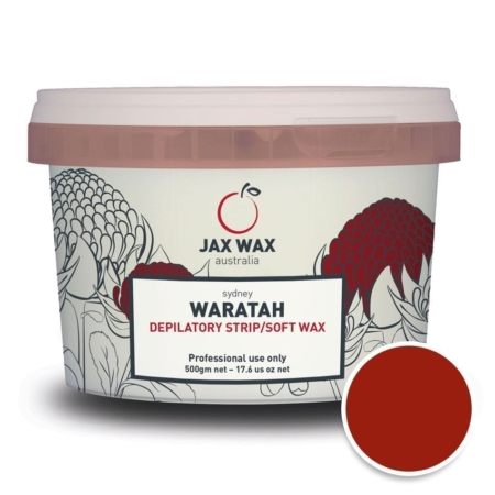 Hybrid strip wax